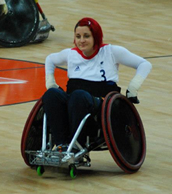 Kylie Grimes paralympic champion