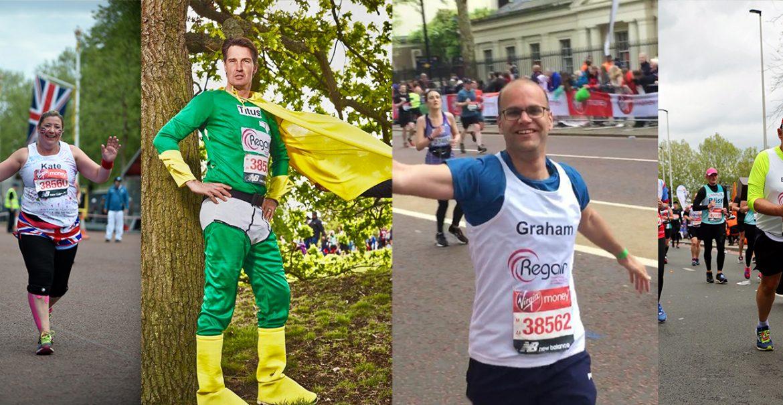 Regain London Marathon 2020 participants
