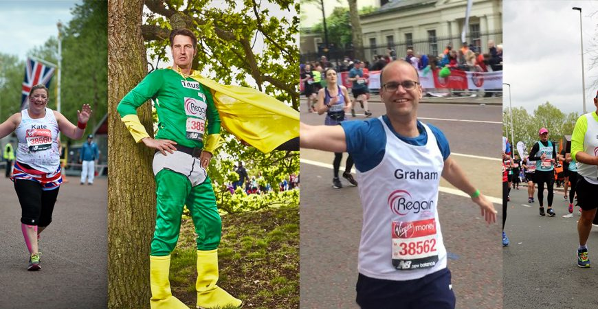 Regain London Marathon 2020 participants