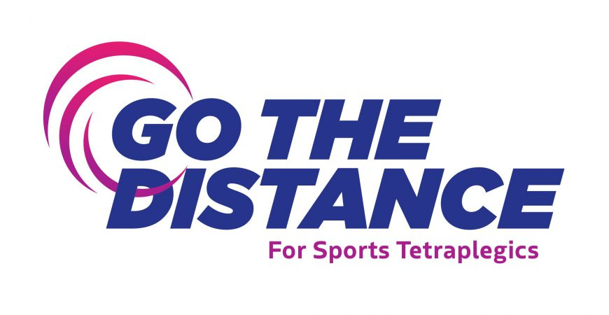 Go the Distance for Sports Tetraplegics logo