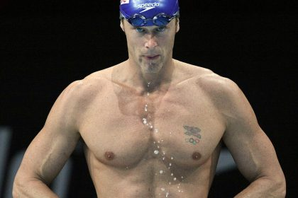 Mark Foster, GB Olympic Swimmer, who will support tetraplegic participants